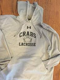 under armour crabs sweatshirt lacrosse apparel sidelineswap