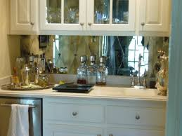 kitchen backsplash mirror modern and cool mirror backsplash for modern kitchen homesfeed