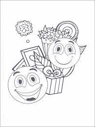 coloriage dessins pour enfants emojis émoticônes 27