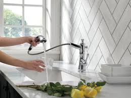 delta cassidy single handle pull out standard kitchen faucet
