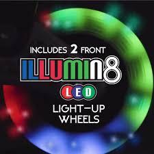 Illumin8 Led by Amazon Com Crazy Skates 168 Kids Adjustable Inline Skate