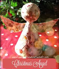 Sun Hats U0026 Wellie Boots Christmas Angel Decoration Made From A
