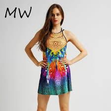 online get cheap peacock feathered dress aliexpress com alibaba