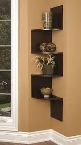 Wooden Corner Shelf Plans by Best 25 Corner Wall Shelves Ideas On Pinterest Shelves Corner