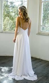 low back wedding dresses white chiffon wedding dress low back wedding