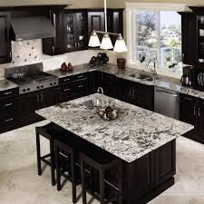 inspiring ideas for black kitchen cabinets with marble countertops