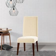 sure fit dining chair slipcovers sure fit stretch jacquard damask dining room chair slipcover free