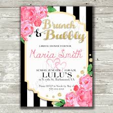 brunch invitation wording ideas kate spade inspired bridal shower invitation kate spade brunch