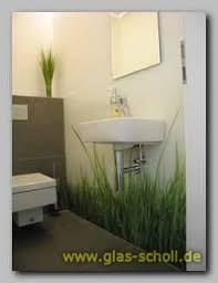 wandgestaltung gäste wc wandverglasung mit digitaldruck im gäste wc glas scholl