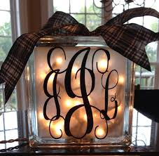 Decorative Glass Block Lights 65 Best Glass Blocks Images On Pinterest Custom Vinyl Glass