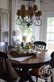 kitchen table centerpiece ideas for everyday stonegable dining room tray and everyday table centerpiece ideas for