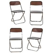 Lucite Folding Chairs Lucite Dining Room Chairs 60 For Sale At 1stdibs