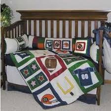 Sport Crib Bedding Football Baby Crib Bedding Set Findgift