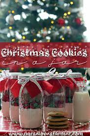 christmas cookies in a jar recipe more best christmas cookies