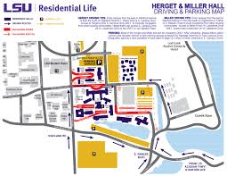 Lsu Parking Map Lsu Move In Day Rebranding Lance Bordelon