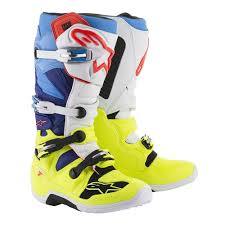 how to clean motocross boots 2018 alpinestars tech 7 motocross boots flo yellow white blue cyan