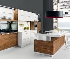 cuisine moderne blanche et cuisine alu et bois cuisine alu et bois with cuisine alu et