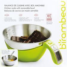 unit de mesure cuisine balance électronique de cuisine birambeau vert et inox de balance