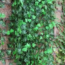 12 x artificial ivy vine leaf plants home decoration sweet
