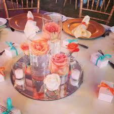 coral colored decorations color coral peach organza 10m135m