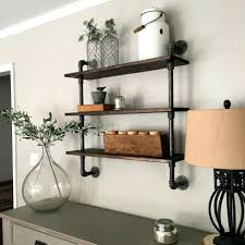 Black Pipe Bookshelf Articles With Plumbing Pipe Wall Shelf Tag Cool Pipe Wall Shelf