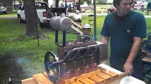 mike u0027s custom made 4cyl briggs and stratton engine at the local