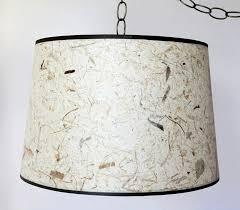Chandelier Swag Lamp Thai Banana Tree Drum Swag Lamp 16 18