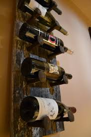 rustic diy wine rack by matthew richter