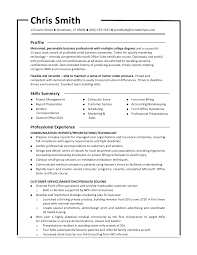 Resume Title Examples Customer Service Monster Resume Samples Resume Templates