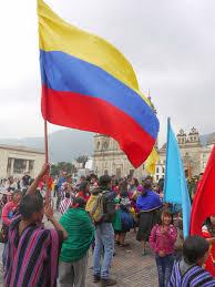 Bogota Flag Mike U0027s Bogota Blog The Ingas U0027 Carnaval Of Pardon