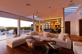 interior aspect of the beverly hills house near los angeles