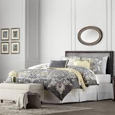 Japanese Comforter Set Three Posts Smyrna Queen Upholstered Headboard Reviews Wayfair
