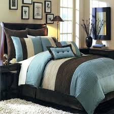 classy blue and brown bedroom set elegant chocolate and turquoise