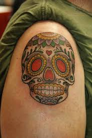 mexican skull tattoos for men on shoulder tattoos blog tattoos