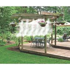 Build Your Own Patio Misting System Misting Pump Ebay