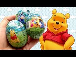 winnie the pooh easter eggs 3 winnie the pooh eggs unboxing egg with