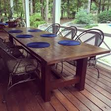 10 ft farmhouse table 10 foot farm table with reclaimed barn wood by mharper90