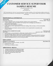 Call Center Supervisor Resume Sample by Innovation Customer Service Supervisor Resume 14 Resume Templates