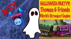 halloween party thomas u0026 friends trackmaster world u0027s strongest