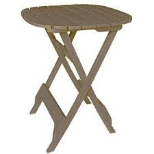 Edison Bistro Table Adams Manufacturing Patio Tables Patio Furniture The Home Depot