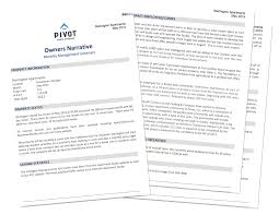 manager weekly report template services pivot property management