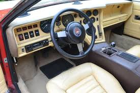 Maserati Bora Interior Merak Ss 14k Miles With Original Paint And Interior For Sale