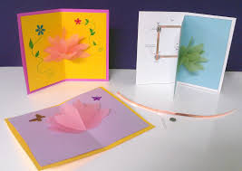 paper circuit lotus pop up card sparkfun guide and template