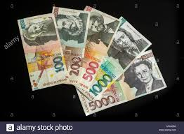 collection of tolar bills of slovenia obsolete currency no longer