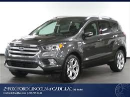 ford crossover suv new 2017 ford escape for sale lease cadillac mi vin