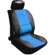 couvre siege cuir couvre siège design cuir avec coussin lombaire feu vert