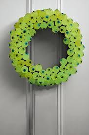 11 cool door decorating crafts for halloween kids crafts