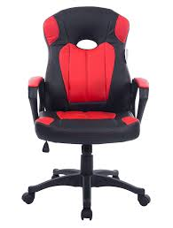 chaise bureau gaming cherry tree racing gaming style pu leather swivel office chair in