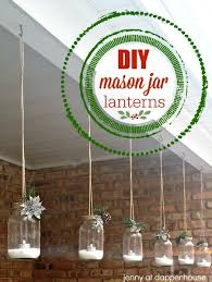 lanterns home decor diy winter holiday mason jar lanterns for home decor and gifts