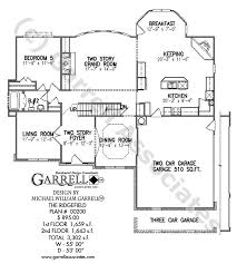 house plans with daylight basement ridgefield house plan house plans by garrell associates inc